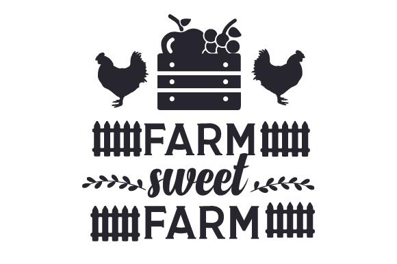 Farm Sweet Farm Craft Design By Creative Fabrica Crafts