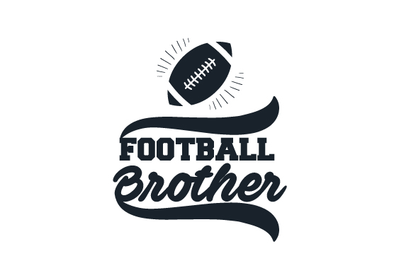 Football Brother Sports Craft Cut File By Creative Fabrica Crafts