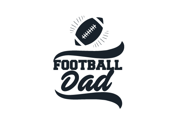Download Free Football Dad Svg Cut File By Creative Fabrica Crafts Creative for Cricut Explore, Silhouette and other cutting machines.
