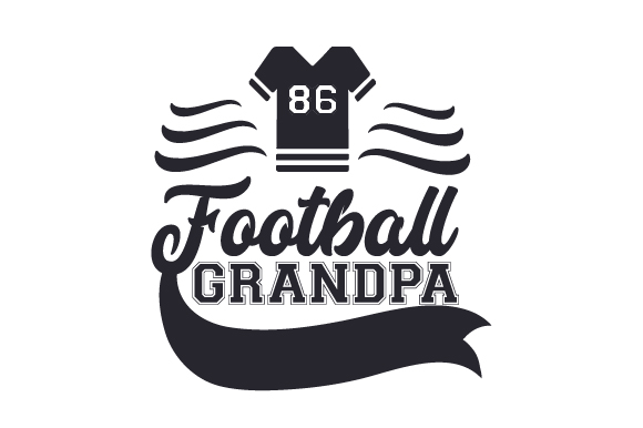 Download Free Football Grandpa Svg Cut File By Creative Fabrica Crafts for Cricut Explore, Silhouette and other cutting machines.