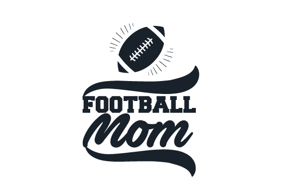 Football Mom Sports Craft Cut File By Creative Fabrica Crafts