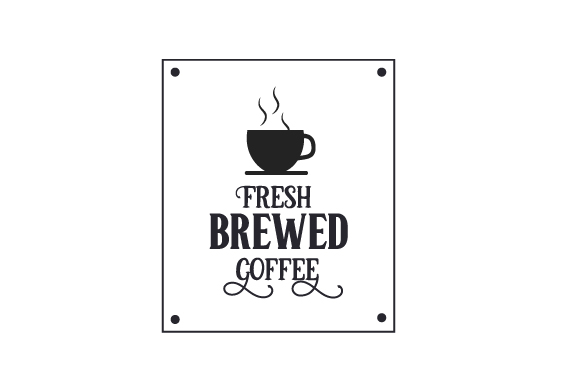 Download Free Fresh Brewed Coffee Svg Cut File By Creative Fabrica Crafts for Cricut Explore, Silhouette and other cutting machines.