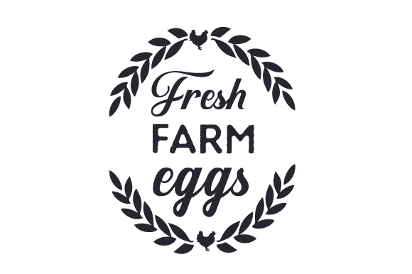 Fresh Farm Eggs Craft Design By Creative Fabrica Crafts