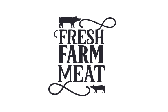 Fresh Farm Meat Farm & Country Craft Cut File By Creative Fabrica Crafts - Image 1
