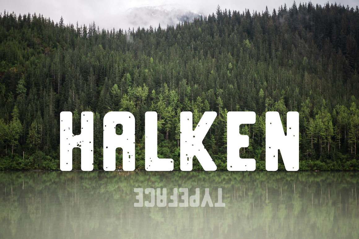 Print on Demand: Halken Sans Serif Font By Mike Hill