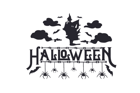 Halloween Spider House Halloween Craft Cut File By Creative Fabrica Crafts - Image 2