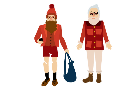 Download Free Hipster Santa Design Set Svg Cut File By Creative Fabrica Crafts for Cricut Explore, Silhouette and other cutting machines.