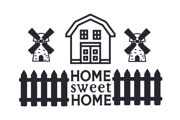Home Sweet Home Craft Design By Creative Fabrica Crafts