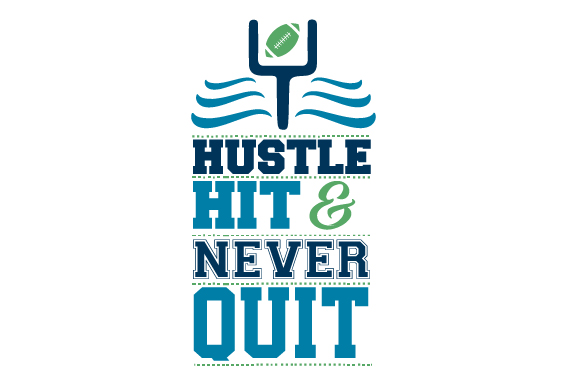 Download Free Hustle Hit And Never Quit Svg Cut File By Creative Fabrica for Cricut Explore, Silhouette and other cutting machines.