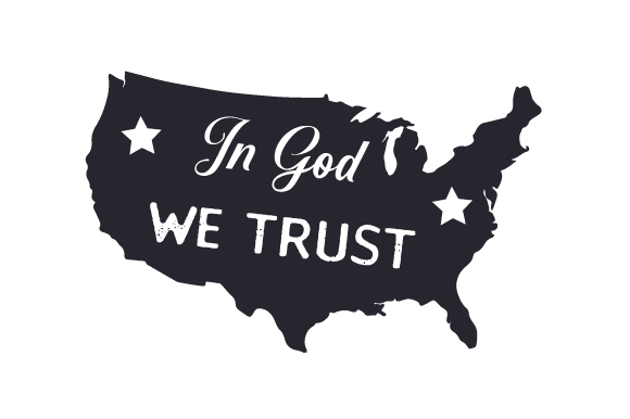 Download Free In God We Trust Svg Cut File By Creative Fabrica Crafts for Cricut Explore, Silhouette and other cutting machines.