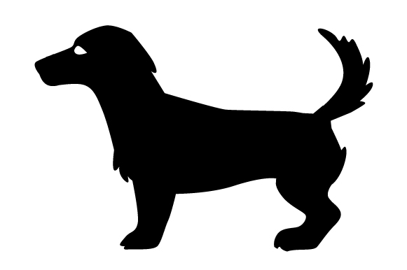 Jack Russell Terrier Silhouette Craft Design By Creative Fabrica Crafts