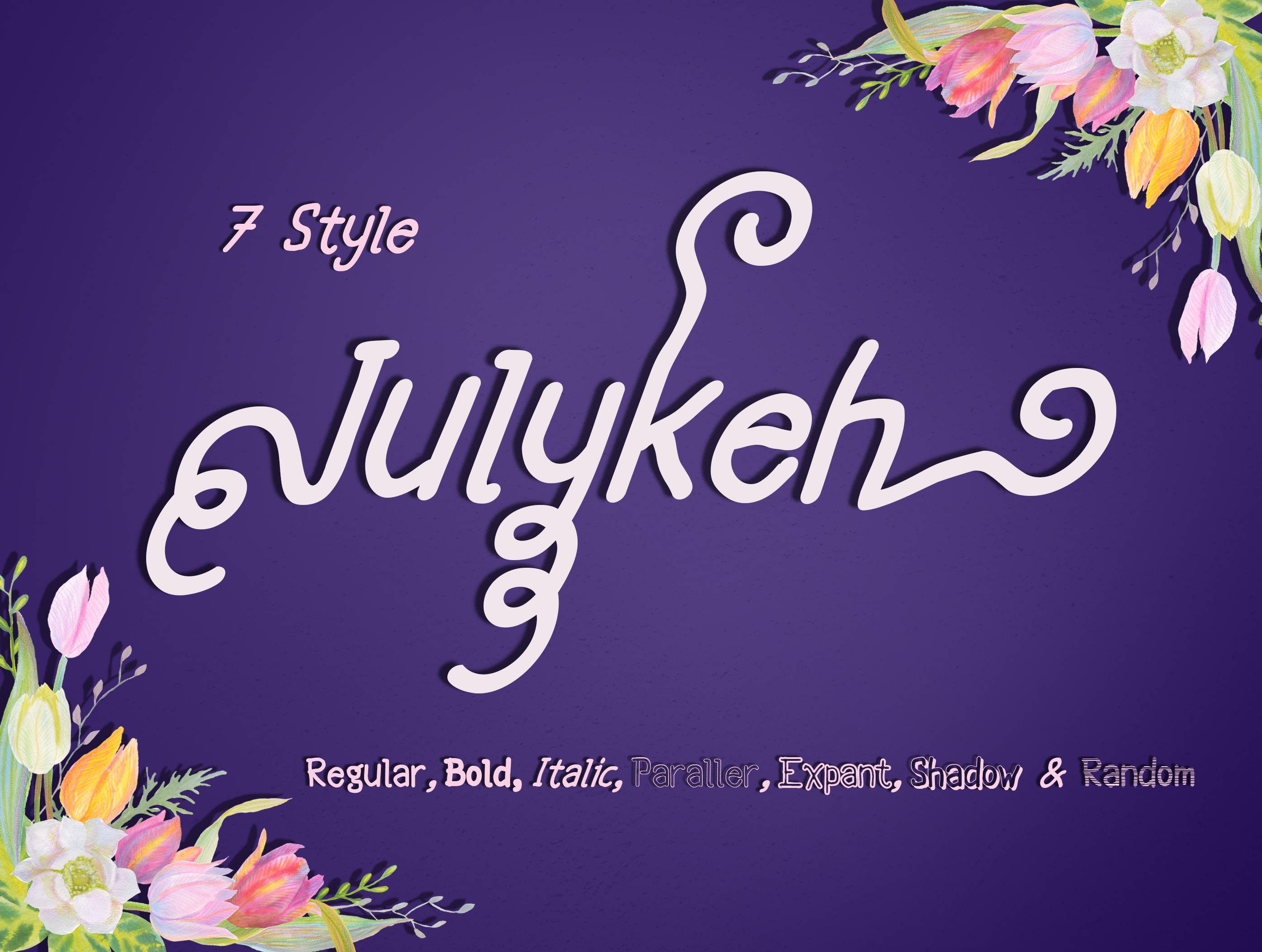 Print on Demand: Julykeh Sans Serif Font By Best Font Studio