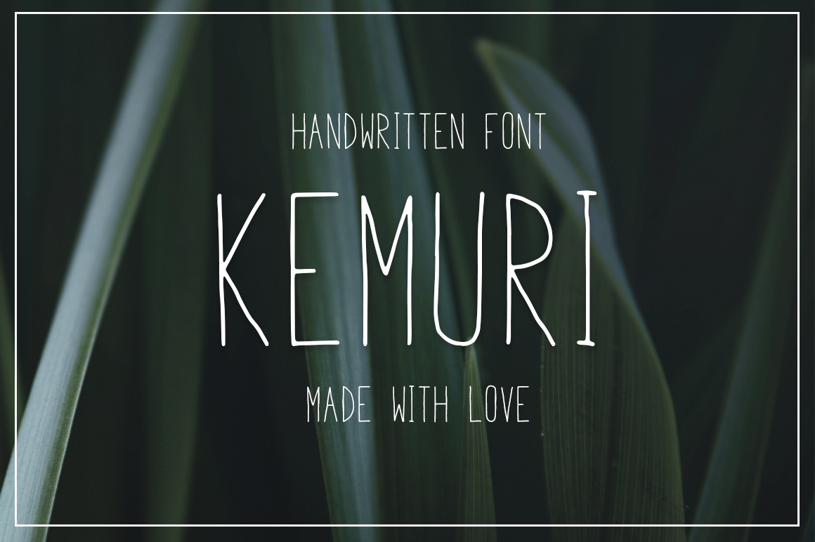 Print on Demand: Kemuri Sans Serif Font By Pasha Larin