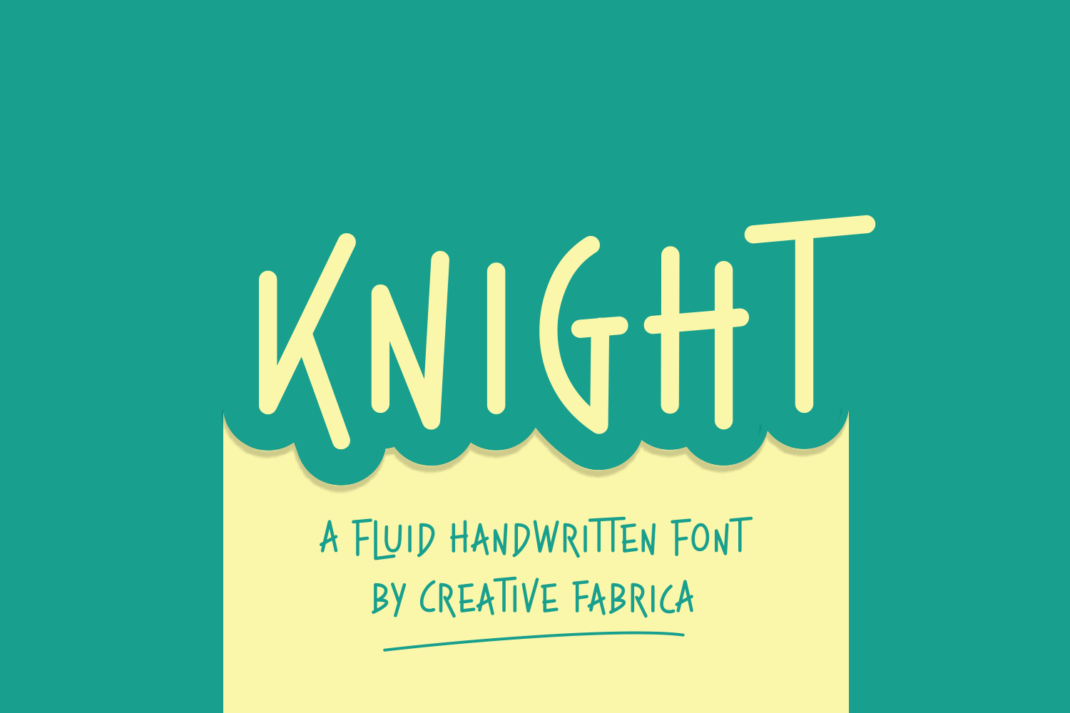 Print on Demand: Knight Script & Handwritten Font By Creative Fabrica Fonts