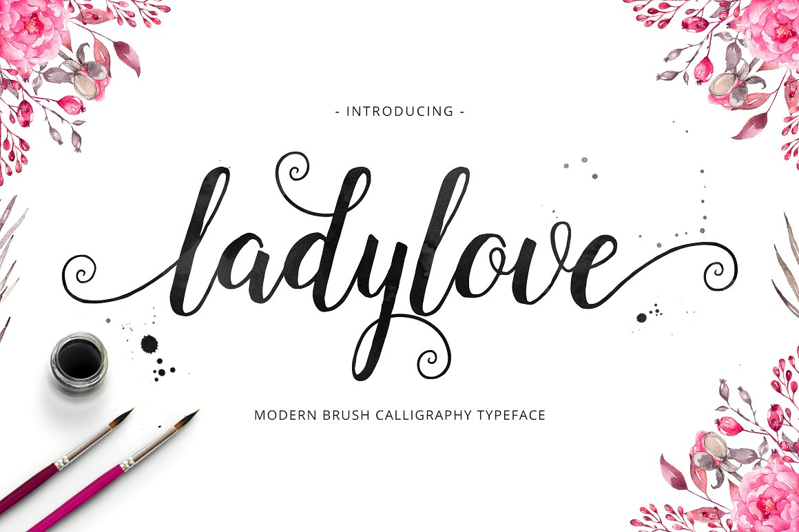 Print on Demand: Lady Love Manuscrita Fuente Por Unicode Studio