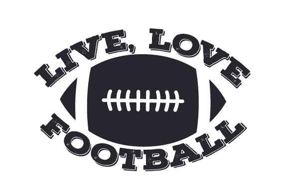 Download Free Live Love Football Svg Cut File By Creative Fabrica Crafts for Cricut Explore, Silhouette and other cutting machines.