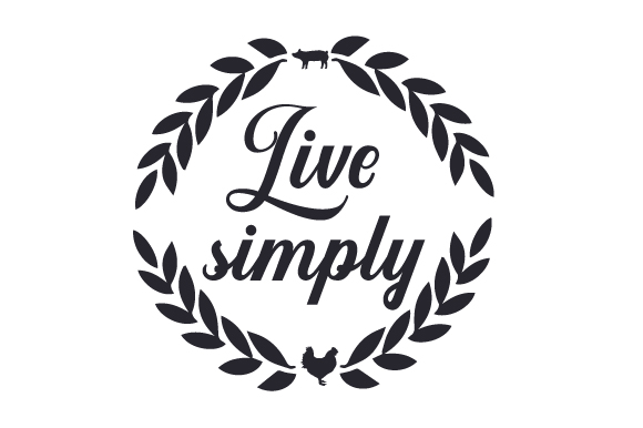 Live Simply Farm & Country Craft Cut File By Creative Fabrica Crafts