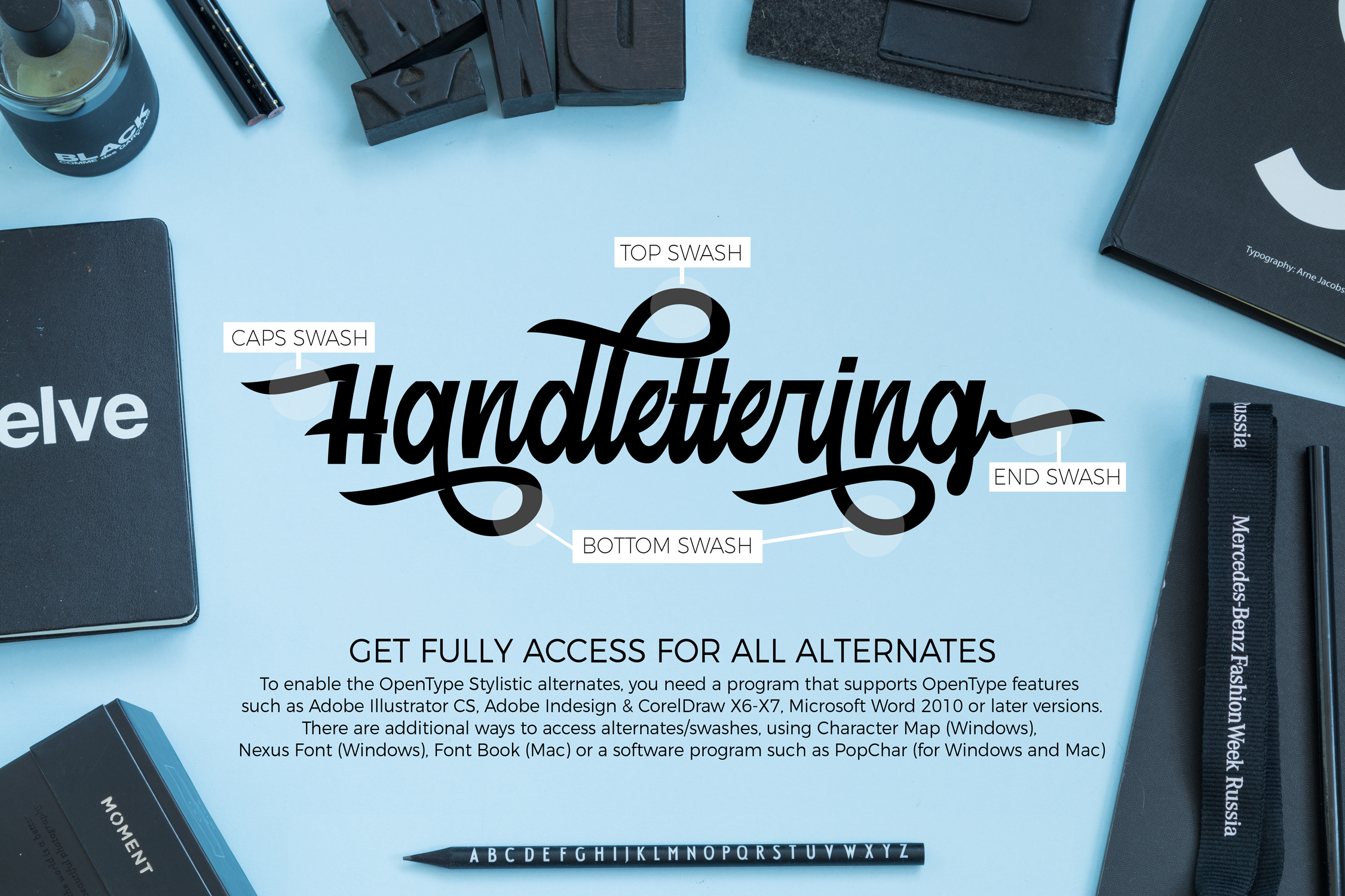 Print on Demand: Mainstream Script & Handwritten Font By Debut Studio - Image 3