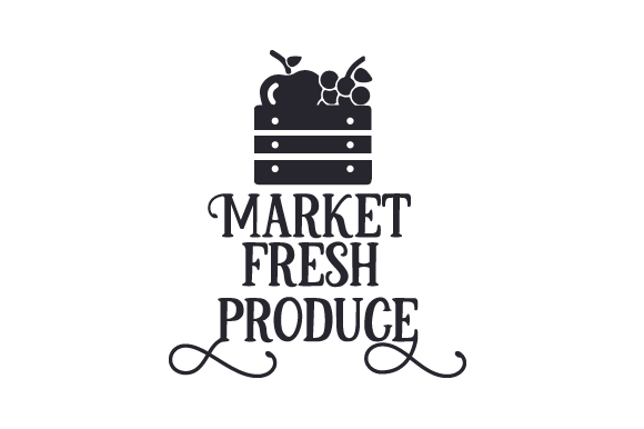 Market Fresh Produce Craft Design By Creative Fabrica Crafts