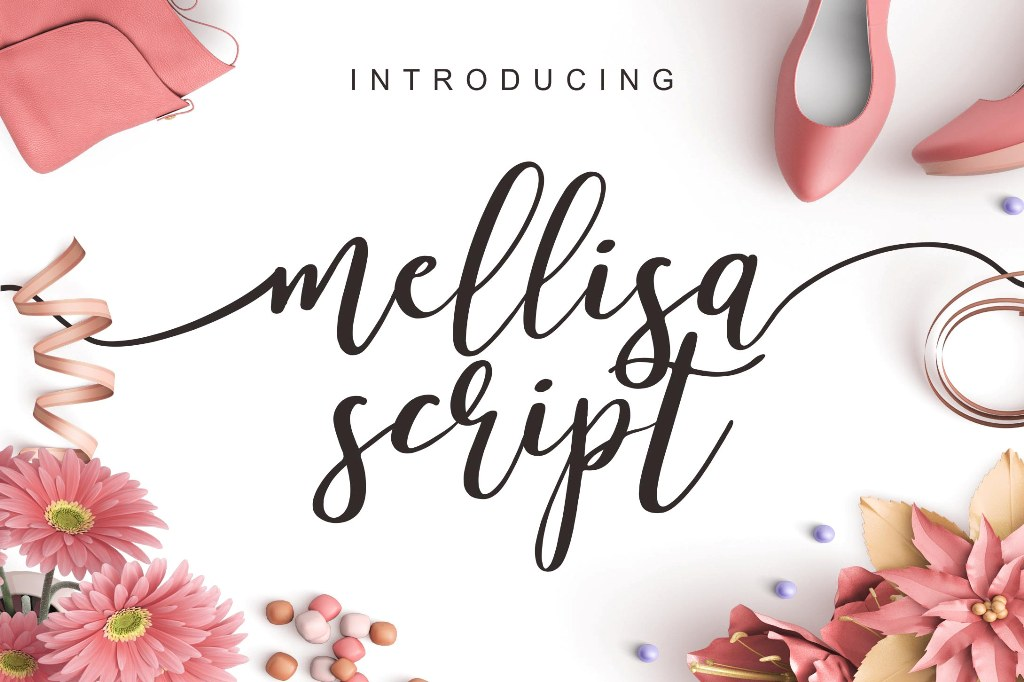 Print on Demand: Mellisa Script & Handwritten Font By Lettersiro Co. - Image 1