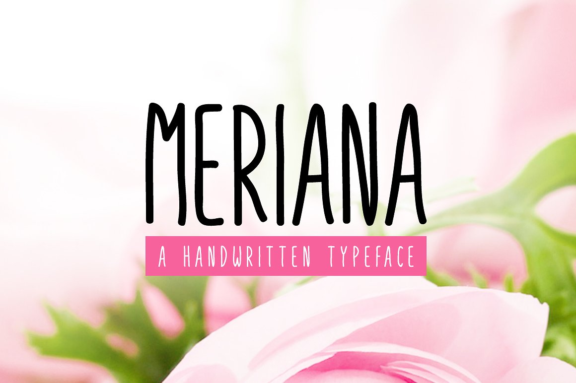 Print on Demand: Meriana Script & Handwritten Font By Creative Fabrica Fonts