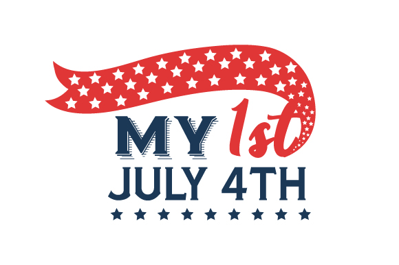 My 1st July 4th Independence Day Craft Cut File By Creative Fabrica Crafts - Image 1
