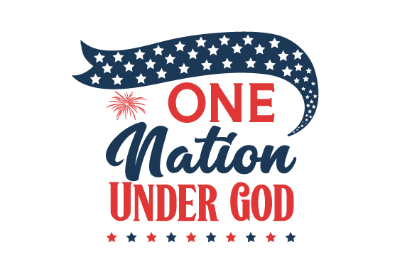 One Nation Under God Svg Plotterdatei Von Creative Fabrica