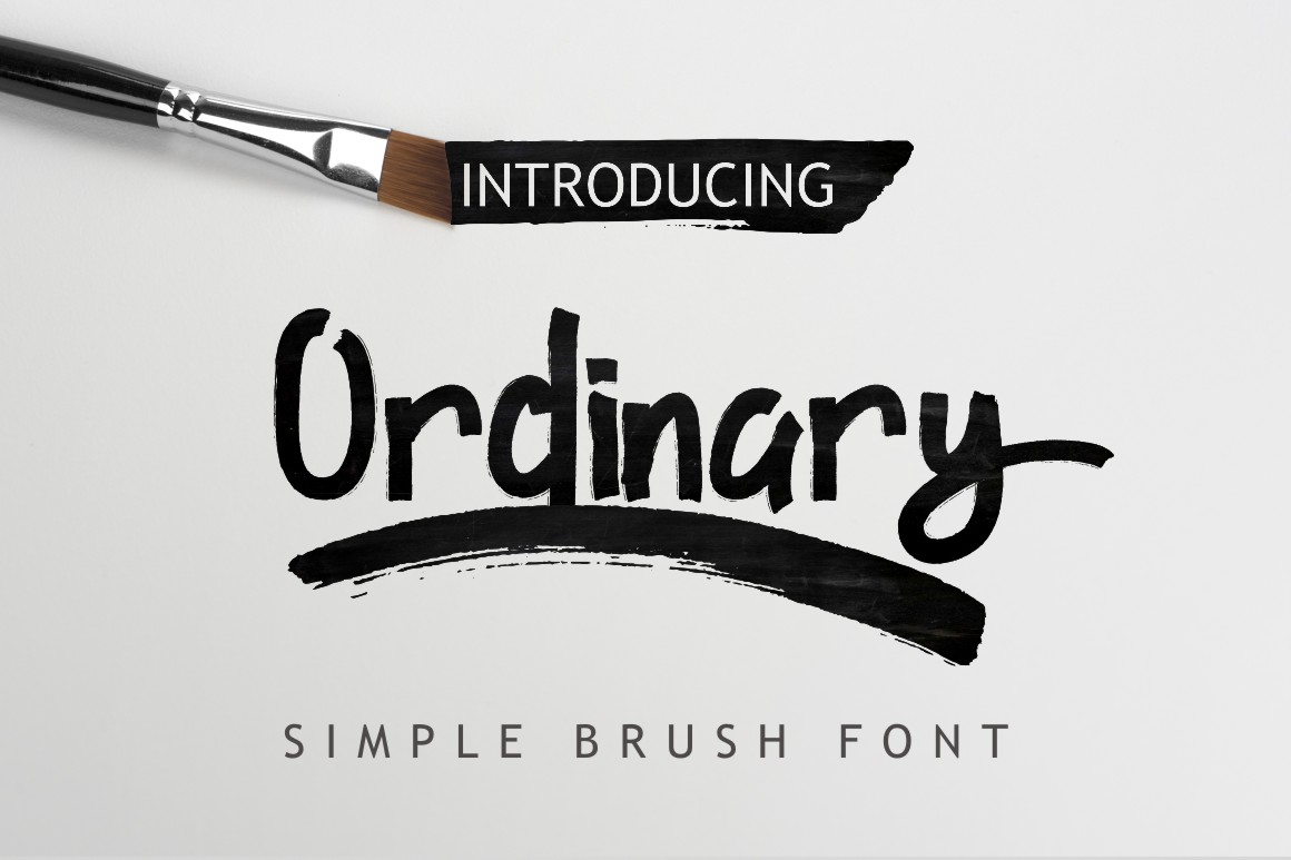 Ordinary Font By Debut Studio