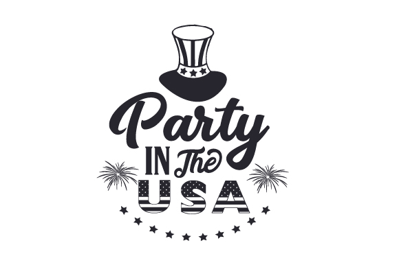 Download Free Party In The Usa Svg Cut File By Creative Fabrica Crafts for Cricut Explore, Silhouette and other cutting machines.