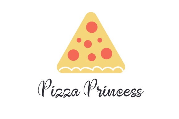Pizza Princess Food & Drinks Craft Cut File By Creative Fabrica Crafts