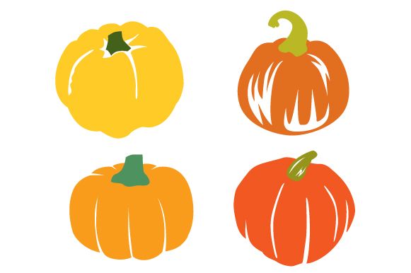 Download Free Pumpkins Design Set Svg Cut File By Creative Fabrica Crafts for Cricut Explore, Silhouette and other cutting machines.