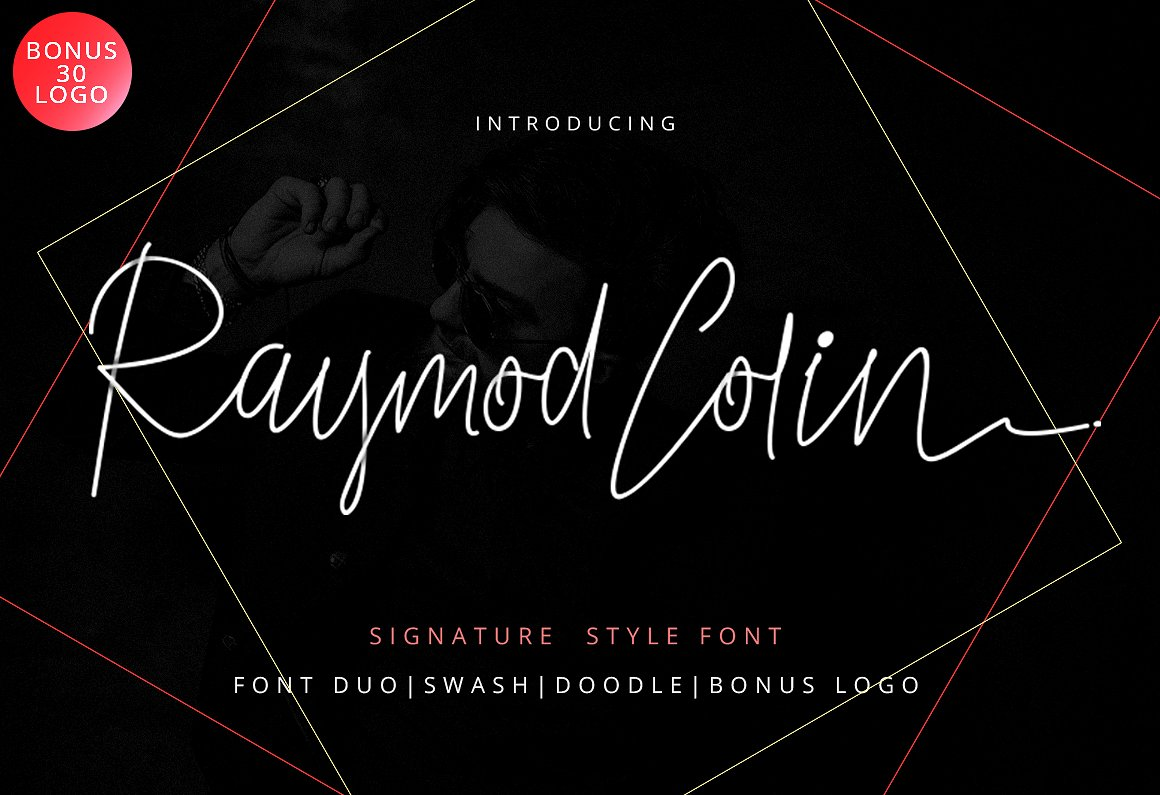 Print on Demand: Raymod Colin Script & Handwritten Font By Ijem RockArt