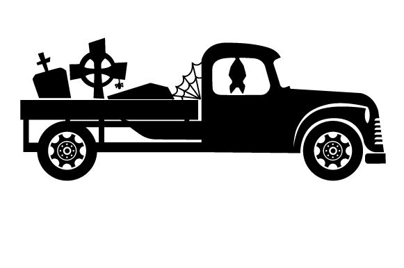 Download Free Retro Halloween Truck Svg Cut File By Creative Fabrica Crafts for Cricut Explore, Silhouette and other cutting machines.