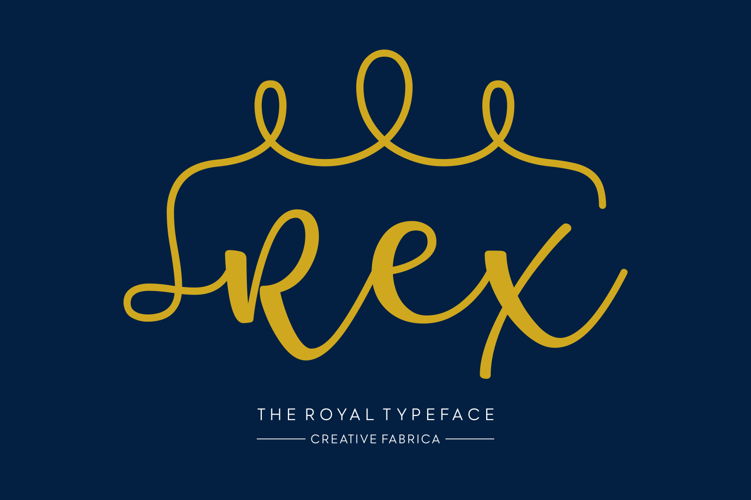 Print on Demand: Rex Script & Handwritten Font By Creative Fabrica Fonts - Image 2