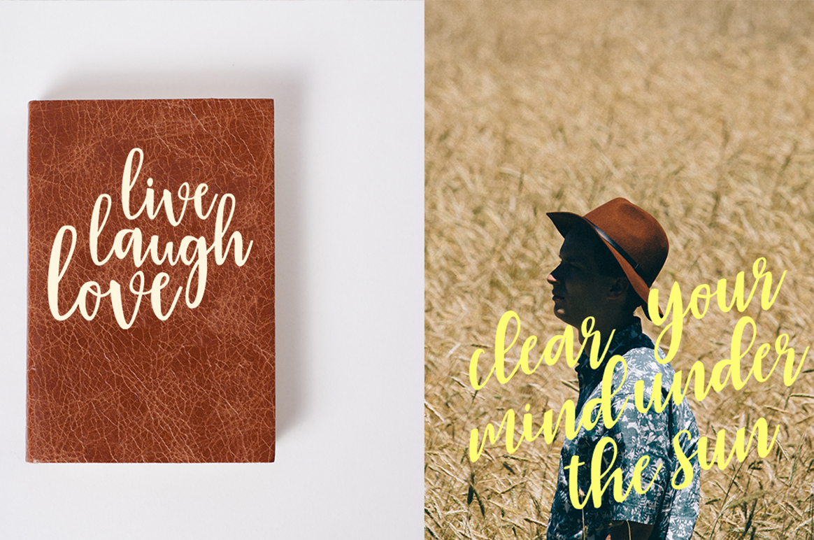 Print on Demand: Roes Blues Script & Handwritten Font By Youngtype - Image 6