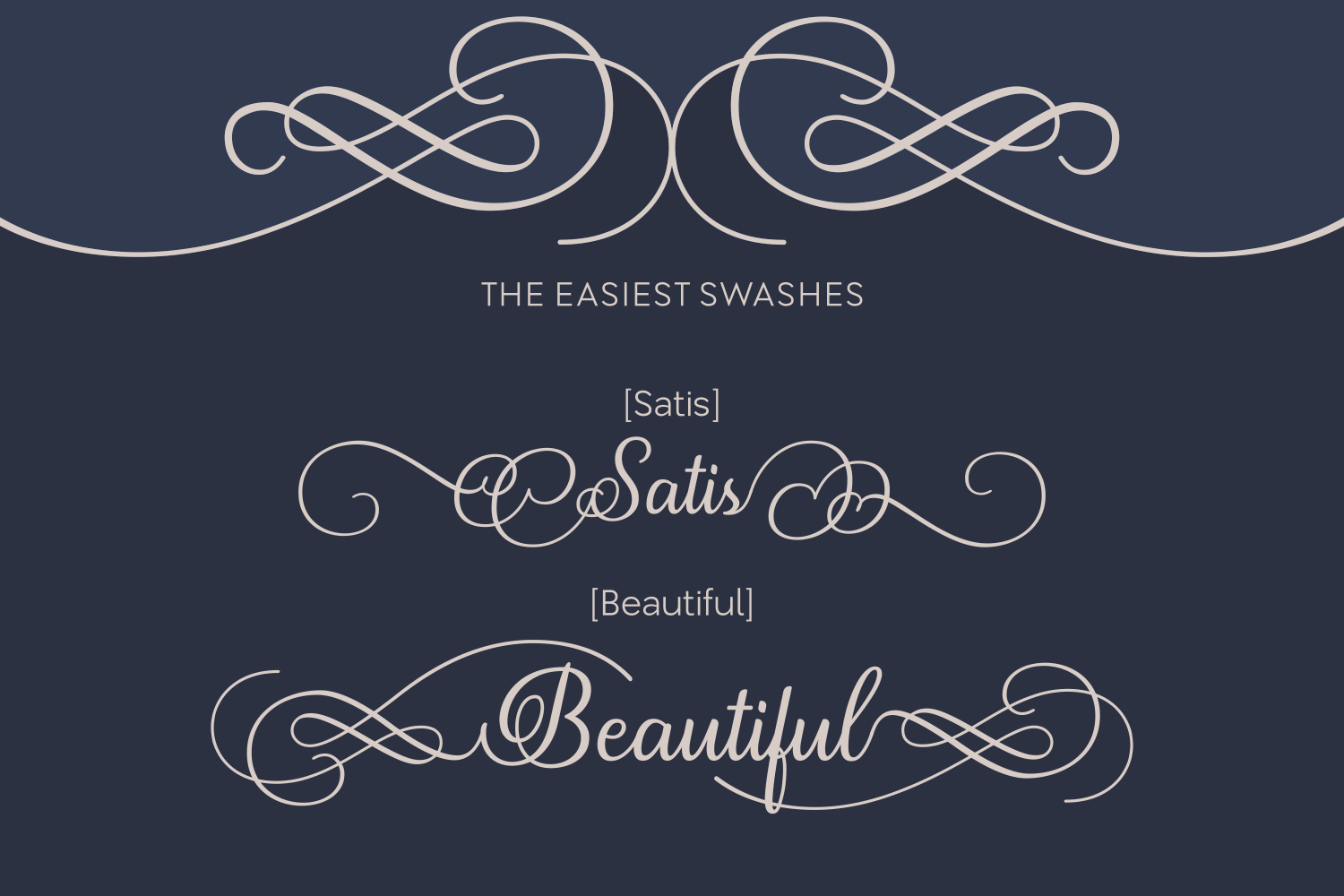 Print on Demand: Satis Script & Handwritten Font By Creative Fabrica Fonts - Image 3