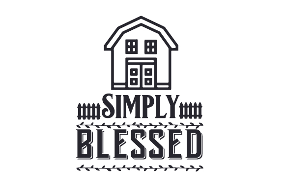 Simply Blessed Craft Design By Creative Fabrica Crafts