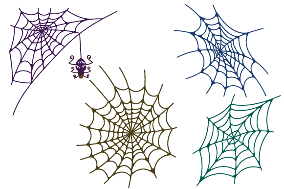 Spiderweb Design Set Halloween Craft Cut File By Creative Fabrica Crafts