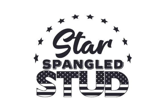 Download Free Star Spangled Stud Svg Cut File By Creative Fabrica Crafts for Cricut Explore, Silhouette and other cutting machines.