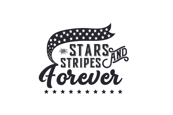 Stars and Stripes Forever Independence Day Craft Cut File By Creative Fabrica Crafts - Image 2