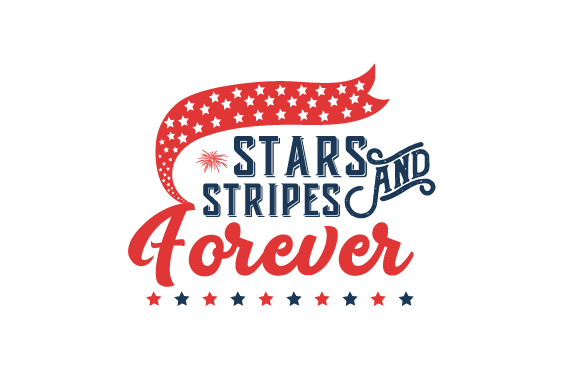 Stars and Stripes Forever Independence Day Craft Cut File By Creative Fabrica Crafts - Image 1