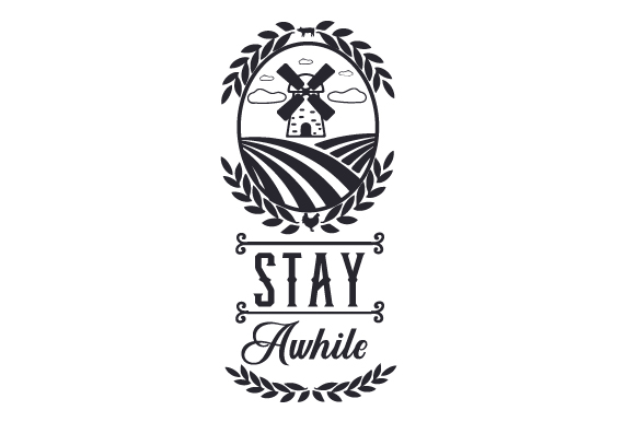 Stay Awhile Craft Design By Creative Fabrica Crafts