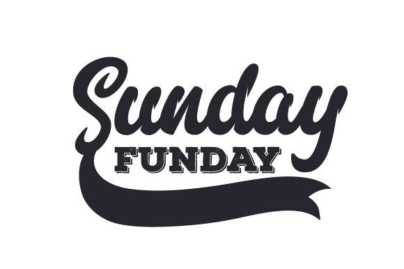 Sunday Funday SVG Cut File By Creative Fabrica Crafts