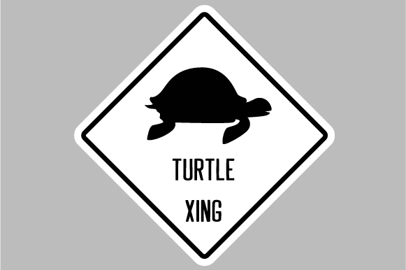 Turtle Xing Designs & Drawings Craft Cut File By Creative Fabrica Crafts