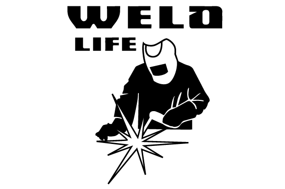 Weld Life (SVG Cut file) by Creative Fabrica Crafts ...