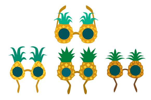 Download Free Pineapple Sunglasses Svg Cut File By Creative Fabrica Crafts for Cricut Explore, Silhouette and other cutting machines.
