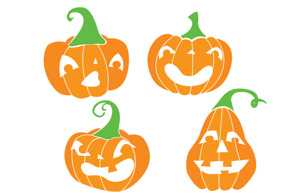 Download Free Pumpkin Faces Svg Cut File By Creative Fabrica Crafts Creative for Cricut Explore, Silhouette and other cutting machines.