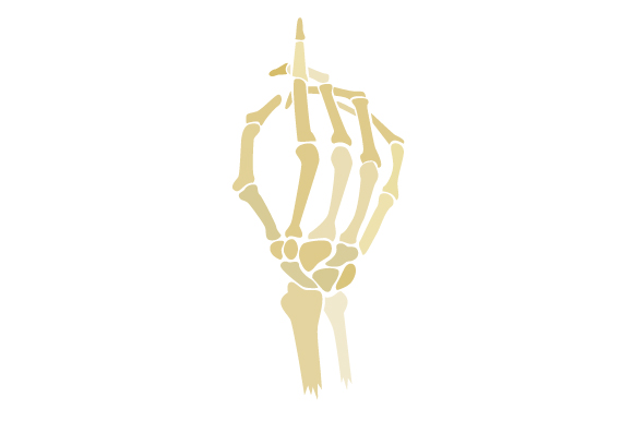 Download Free Skeleton Hand Pointing Svg Cut File By Creative Fabrica Crafts for Cricut Explore, Silhouette and other cutting machines.