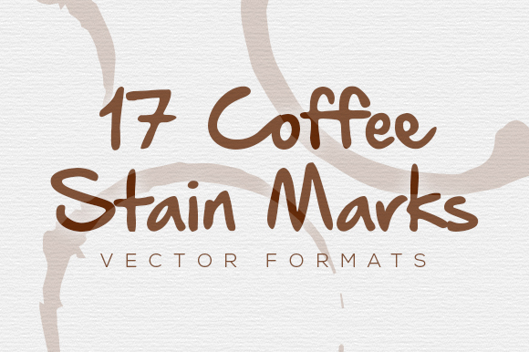 17 Vector Coffee Stain Marks Graphic By Design A Lot