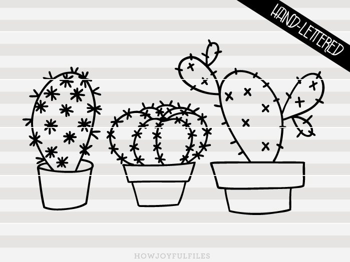 Cactus Graphic By Howjoyful Files Creative Fabrica